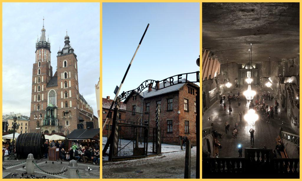 Cracovia, Auschwitz e la miniera di sale di Wieliczka