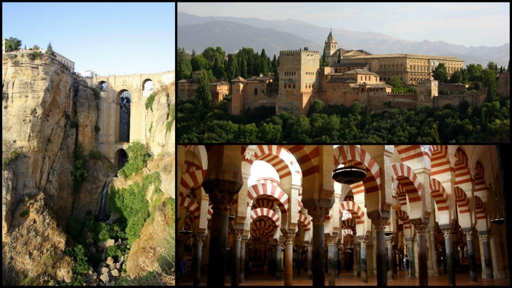 Ronda, Granada, Cordoba