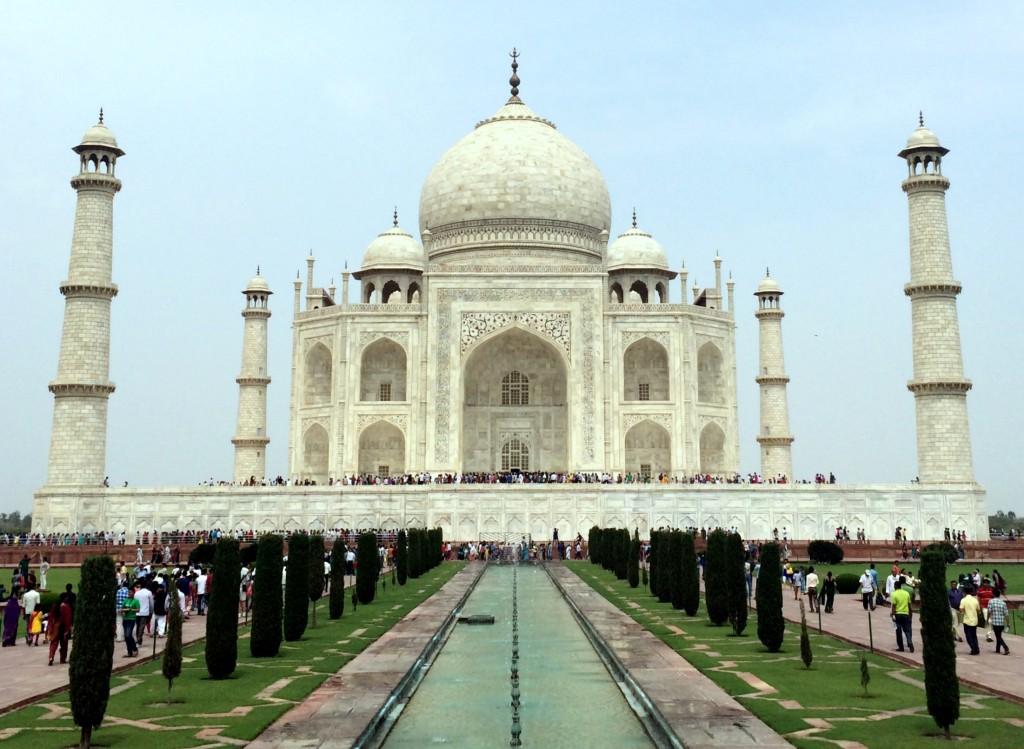 India. Agra. Il Taj Mahal.